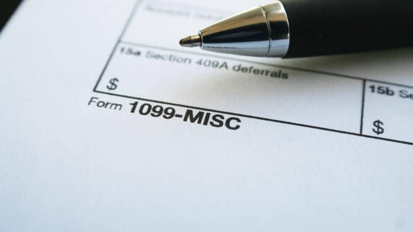 Formularios de impuestos misceláneos 1099