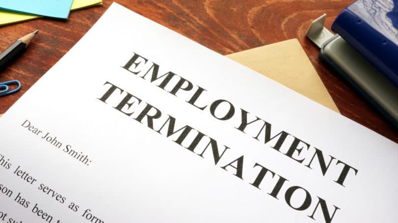 Leyes laborales relativas a la terminación