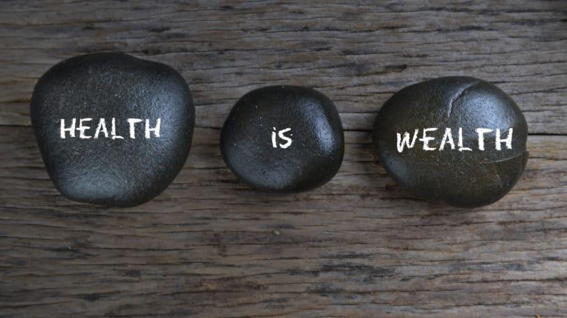 La salud es riqueza Piedras Rocas