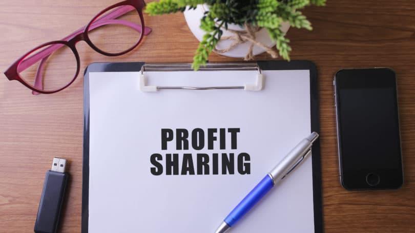 Consignación de participación en los beneficios