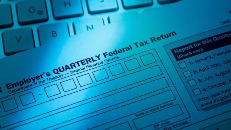 Formulario de declaración de impuestos trimestral