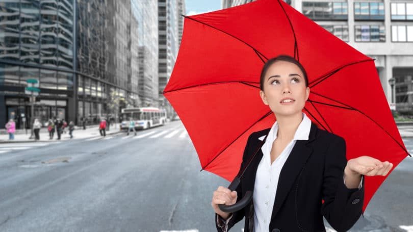 Quién necesita un seguro paraguas